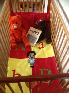 Codey-learns-cot-blanket